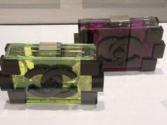 Chanel Transparent Lego Bags Spring 2014