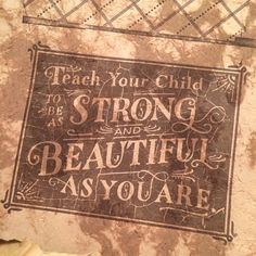 Strong & Beautiful Letterpress by The Type Hunter