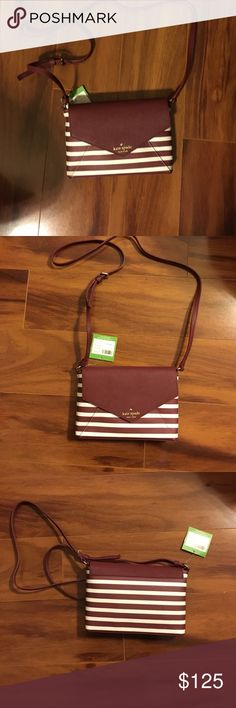 Kate Spade Merlot New York Crossbody Purse NWT Crossbody by Kate Spade kate spade Bags Crossbody Bags