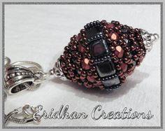 """A beaded bead """"Wasp Nest"""" - tutorial. $4.00, via Etsy."""