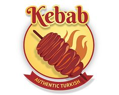 KEBAB LOGO Logo design - a food logo best for fast food Price $99.00