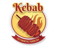KEBAB LOGO Logo design - a food logo best for fast food Price $99.00