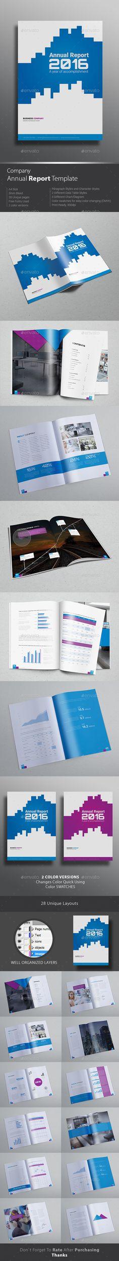 Company Annual Report Design Template #design Download: http://graphicriver.net/item/company-annual-report-design-template/12466842?ref=ksioks