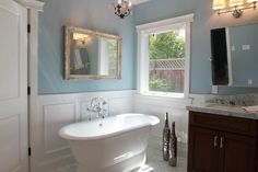 5 Fascinating Useful Ideas: Faux Wainscoting Tutorials shiplap wainscoting benjamin moore.Gray Wainscoting Board And Batten painted wainscoting staircases.How To Install Wainscoting Bathroom. Wainscoting Height, Painted Wainscoting, Wainscoting Bedroom, Dining Room Wainscoting, Wainscoting Styles, Wainscoting Panels, Black Wainscoting, Wall Panelling, Wood Paneling
