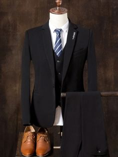 2017 New Mens Suits White Luxury Brand Suit Men Tuxedo Party Mens Dress Suit 3 Pieces Wedding Slim Fit blazer Set Designs Dress Suits For Men, Mens Suits, Contrast, Oxford Shoes, Suit Jacket, Dress Shoes, Slim, Mens Fashion, Fashion Design