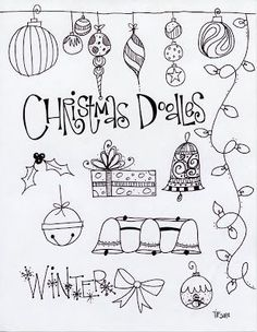 T. Matthews Fine Art: First Friday Art Class for December 2013 - Christmas Angels and Doodles