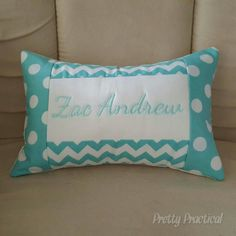 Another small personalised cushion :)