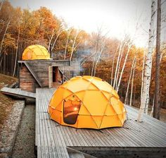 The North Face Dome #Tent is Built to Withstand the Harshest Conditions trendhunter.com