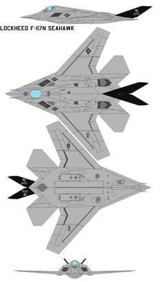 Lockheed F-117N Seahawk by bagera3005.deviantart.com on @DeviantArt