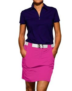 JoFit Belted Golf Skort GB016