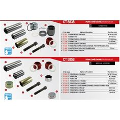 Pin Repair Kit For Sn6 Sn7 Sk6 Sk7  Type Knorr Type Brake Caliper For Trucks Buses Vans And Trailer