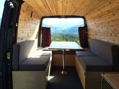 Got a camper van or other recreational travel vehicle with benches? Sew these cushions for a classic yet cozy look.