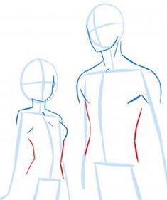 how to draw anime anatomy step 12