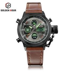 Men Fashion Wristwatche Luxury Hot Brand watch style Men's Leather Strap Watch Sports Watches With High Quality Waterproof