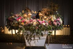 WedLuxe– A Floral-Filled, Baroque-Inspired Wedding with Gilded, Regal Details   Photography By: Banga Studios. Follow @WedLuxe for more wedding inspiration!