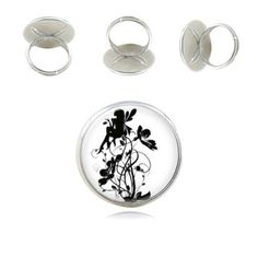 Hey, I found this really awesome Etsy listing at https://www.etsy.com/listing/234753784/fairy-ring-black-and-white-ring-handmade