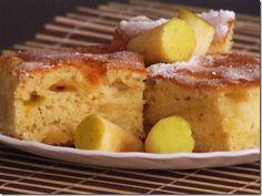 Prajitura cu mere - retete culinare. Va propun o delicioasa reteta de prajitura cu mere simpla, pufoasa si parfumata. Reteta de prajitura cu mere. Retete de prajituri cu fructe.