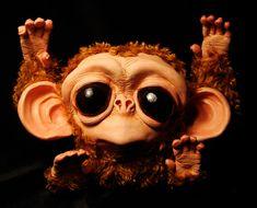 Monkey by Santani.deviantart.com on @deviantART