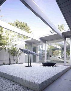Eichler atrium, San Rafael, CA