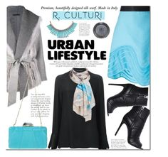 R.Culturi scarves by mada-malureanu on Polyvore featuring Catherine Quin, The Row, 3.1 Phillip Lim, Pierre Balmain, KOTUR, Sole Society, Topshop and Rculturi
