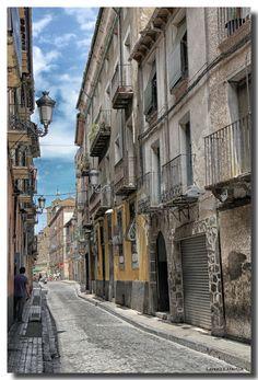 Paisaje Urbano, Jaca, Huesca, Aragon_ Spain