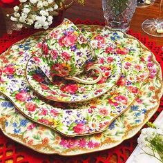 Vintage Dishes, Vintage China, Vintage Tea, China Sets, China Tea Cups, Fine China, China Porcelain, High Tea, Afternoon Tea
