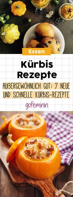 Außergewöhnlich gut: 7 neue & schnelle Kürbis-Rezepte für eure Herbst-Küche