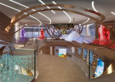 Wavy wooden walls feature in Azerbaijan's Milan Expo pavilion