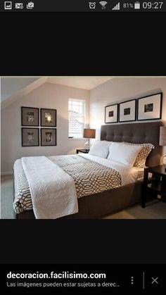 Dormitorio toques otientales