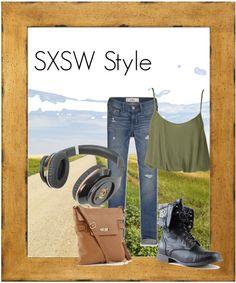 """SXSW Style"" by everythinghauler ❤ liked on Polyvore"