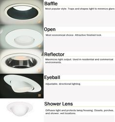 EYEBALL RECESSED LIGHTS BROWN OR BRONZE COLOR TO BLEND WITH WOOD How to Choose the Right Recessed Lighting