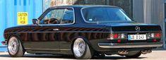 280CE W123 Dual Exhaust