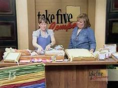 ▶ CraftSanity on TV: Weaving with wooden looms - with yarn or fabric strips