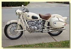 1959 BMW R50 with Enduro bags