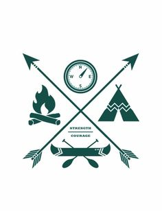 "This design was inspired by vintage Boy Scout badges and created for our partnership with the Muscular Dystrophy Association (@mda_usa) to raise funds for the MDA summer camp - an outdoor experience for children with muscle disease that, as many of those attending would later say, is ""the best week of their lives!"" - Every item sold donates $7 to help send more kids to MDA camp! #Sevenly"