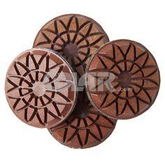 Flower Metal Resina para Concreto - polimento de concreto - disco para polir concreto - polir concreto - como polir concreto - www.colar.com