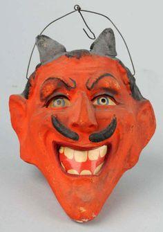 Halloween Lanterns Pictures and Prices: Devil's Head Halloween Lantern