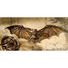 Design Toscano Cyber Bat #Steampunk Wall Sculpture
