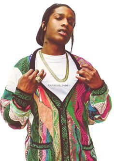 A$AP Rocky...He be lookin good sometimes...