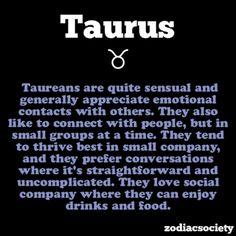 Taurus Facts - So True
