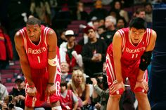 T-Mac & Yao.    For the latest Houston Rockets news and updates, visit www.rockets.com.