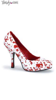 $40 Blood Splatter Zombie Pump