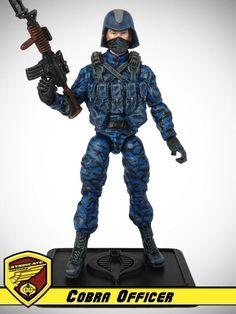 OG 13 :: Cobra Officer - G.I. Joe customs