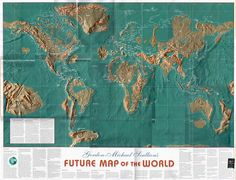 The Shocking Doomsday Maps Of The World And The Billionaire Escape ...