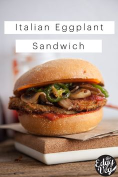 This Italian Eggplant Sandwich is a go-to dinner recipe for us– A mouth watering twist on the classic Italian Veal Sandwich, substituting eggplant for veal turning it into a true...