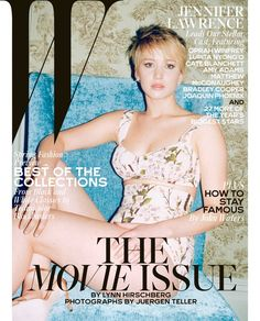 Jennifer Lawrence, Cate Blanchett + More Stars Cover W Mags Movie Issue