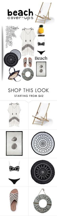 """""""sand"""" by tobash21 ❤ liked on Polyvore featuring Tory Burch, Telescope Casual, BRIO, You, Me and the Dream, South Beach, The Beach People, Lands' End and coverups"""