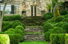 Beautiful landscaping by Doyle Herman Design Associates