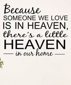Another great find on #zulily! 'A Little Heaven in Our Home' Wall Decal #zulilyfinds
