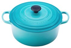 Le Creuset Round French Oven, Caribbean Blue